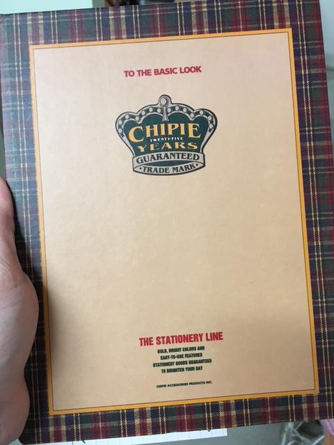 Für diesen Blogpost extra aus den Tiefen des Kellers ausgegraben: mein Lerntagebuch 1995/1996