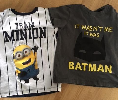 Gut versus nicht gut: Minion vs. Batman