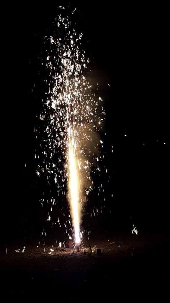 Unser Vulkan-Feuerwerk am 1. August
