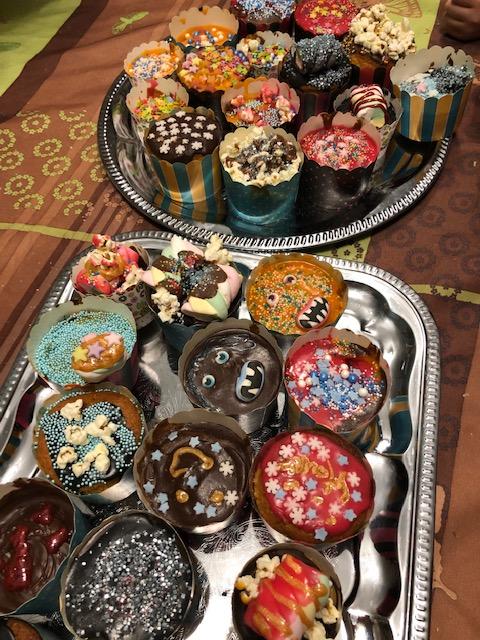 Cupcakes bunt dekoriert