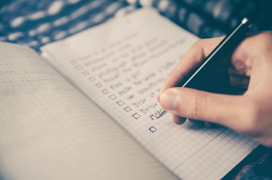 Eine To-Do-Liste dient der Präkrastination